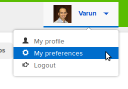 Popup preferences